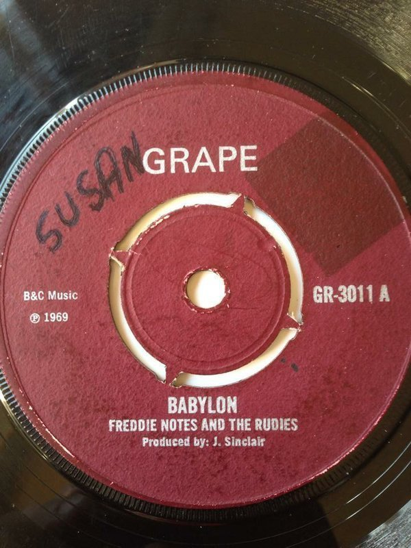 Freddie Notes And The Rudies - Babylon