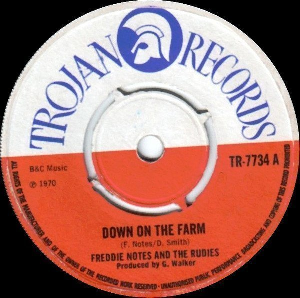 Freddie Notes And The Rudies - Down On The Farm