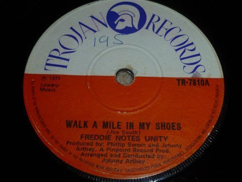 Freddie Notes And The Rudies - Walk A Mile In My Shoes / Reggae Rouser