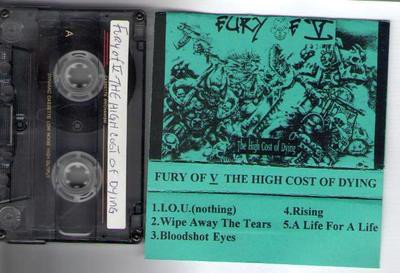Fury Of Five - The High Cost Of Dying