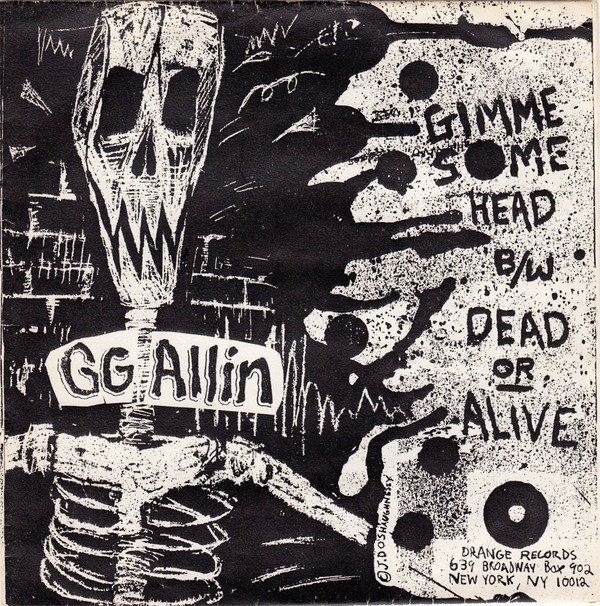 Gg Allin - You Hate Me + I Hate You (Public Animal No.1)