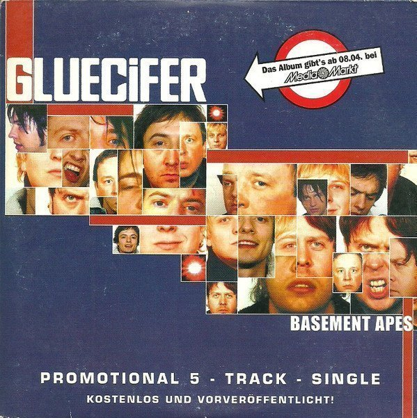 Gluecifer - Basement Apes (Promotional 5 - Track - Single)