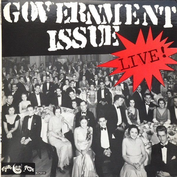 Government Issue - Live!