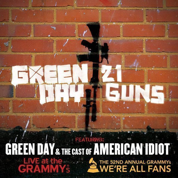 Green Day - 21 Guns (feat. Green Day & the Cast of American Idiot) [Live at the Grammy