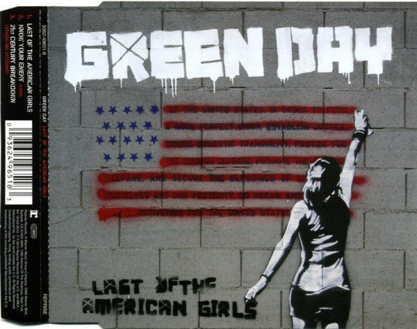 Green Day - Last Of The American Girls