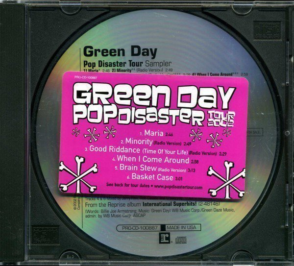Green Day - Pop Disaster Tour 2002