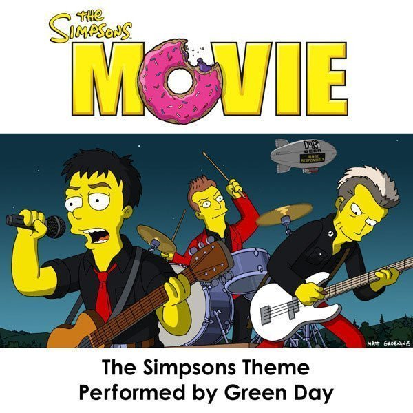 Green Day - The Simpsons Theme