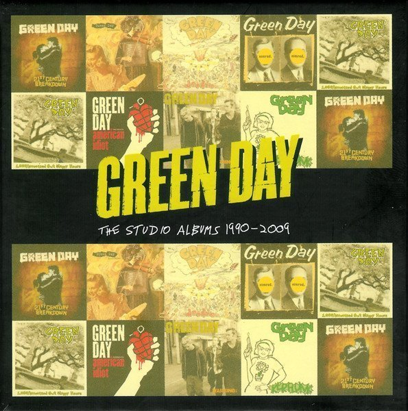 Green Day - The Studio Albums 1990 - 2009