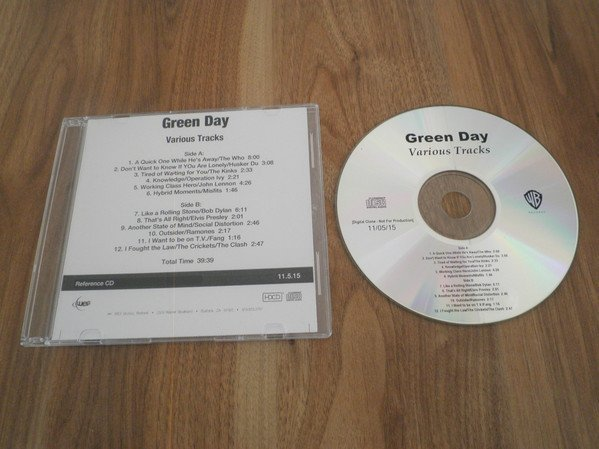 Green Day - Various Tracks
