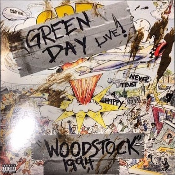 Green Day - Woodstock 1994