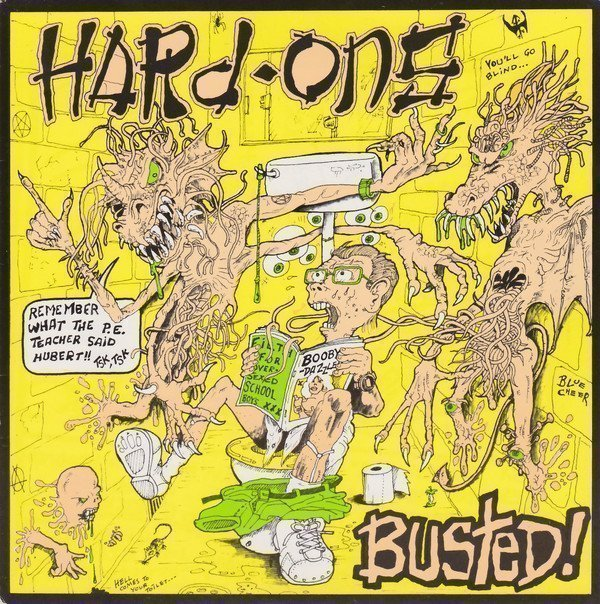 Hard ons - Busted!