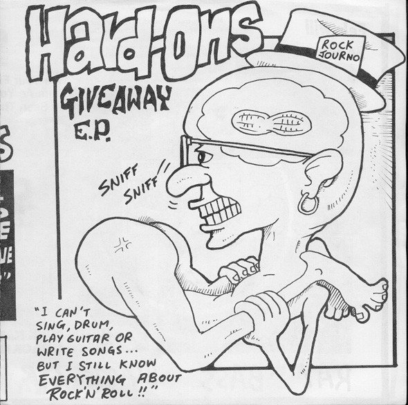 Hard ons - Giveaway E.P.