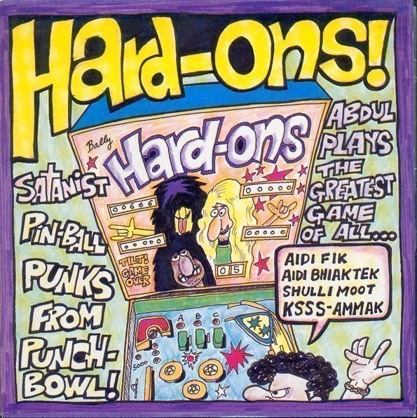 Hard ons - Just Being With You / Growing Old