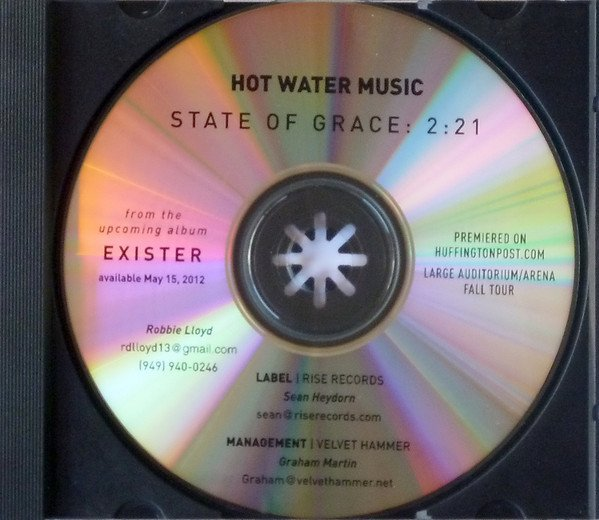 Hot Water Music - State Of Grace