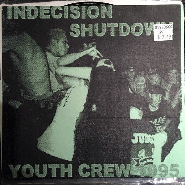 Indecision - Youth Crew 1995