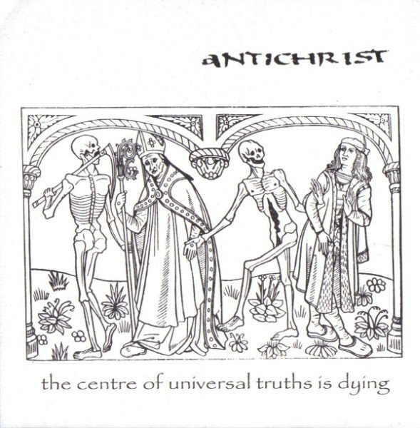 "Intensity - The Centre Of Universal Truths Is Dying / Split 7"" With Antichrist"