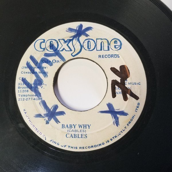 Jackie Mittoo - Baby Why / Everybody Plays The Fool