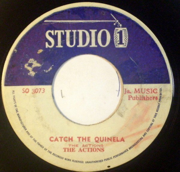 Jackie Mittoo - Catch The Quinela /  Song Bird