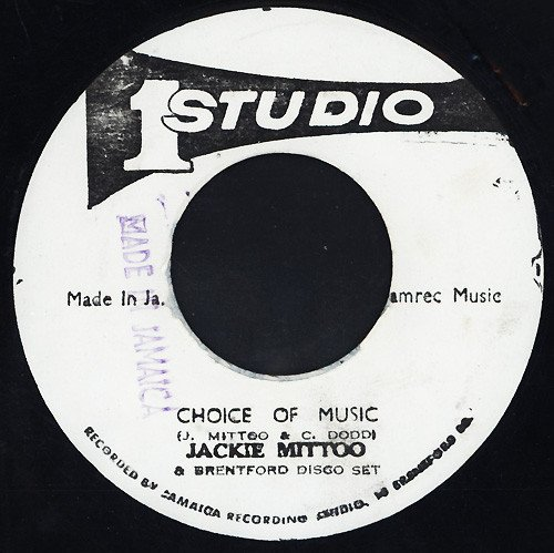 Jackie Mittoo - Choice Of Music