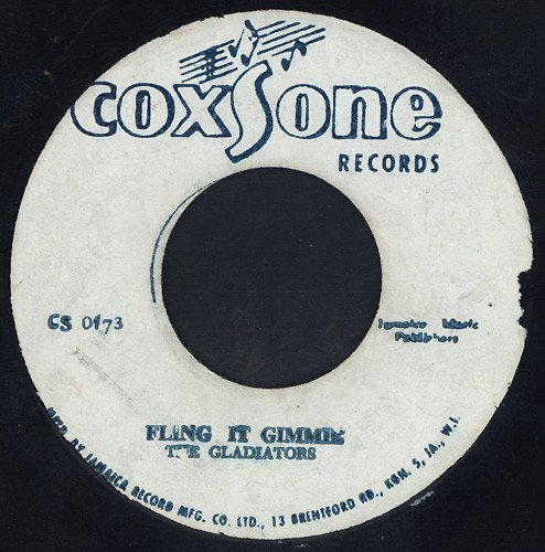 Jackie Mittoo - Fling It Gimmie / Can I Change My Mind