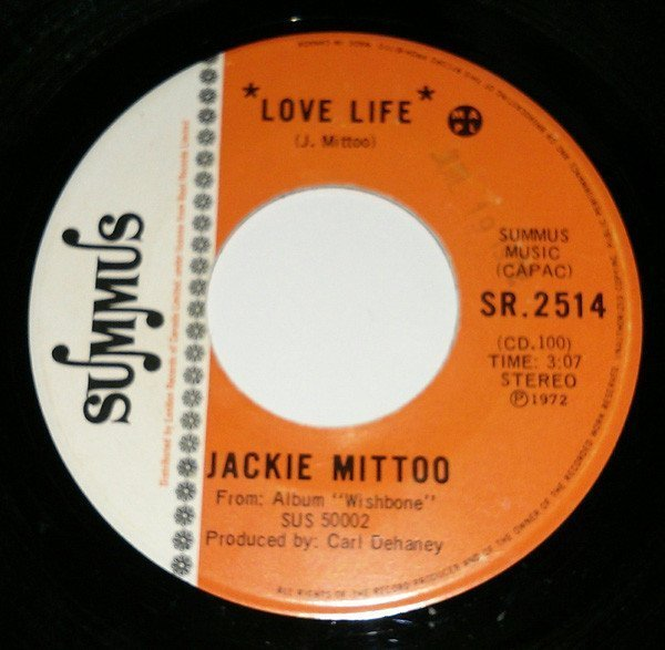 Jackie Mittoo - Love Life / Love Of Life