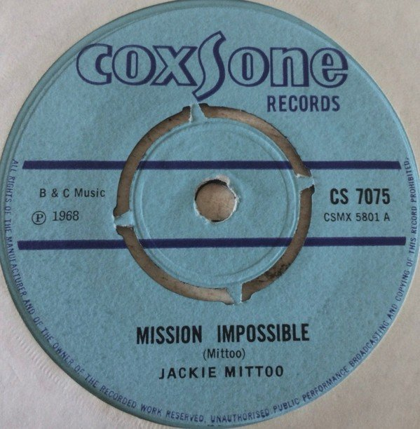 Jackie Mittoo - Mission Impossible / Giddy-Up