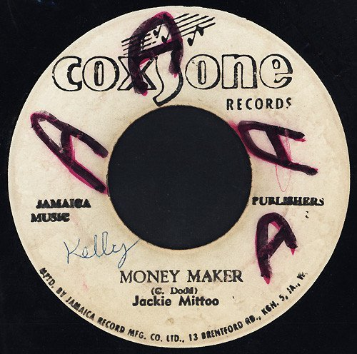 Jackie Mittoo - Money Maker / Love Land