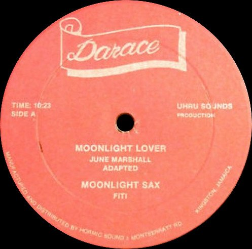 Jackie Mittoo - Moonlight Lover / Moonlight Groover