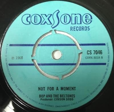 Jackie Mittoo - Not For A Moment / Man Pon Spot