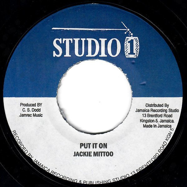 Jackie Mittoo - Put It On / Soul Version
