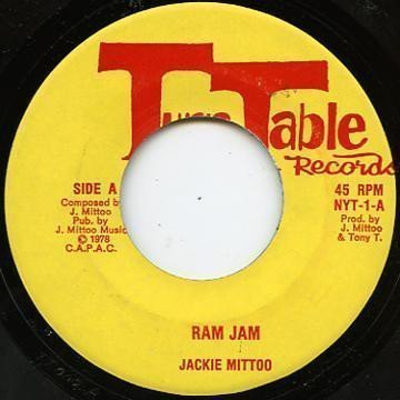 Jackie Mittoo - Ram Jam / Rendition