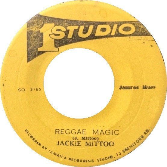 Jackie Mittoo - Reggae Magic / All By My Self