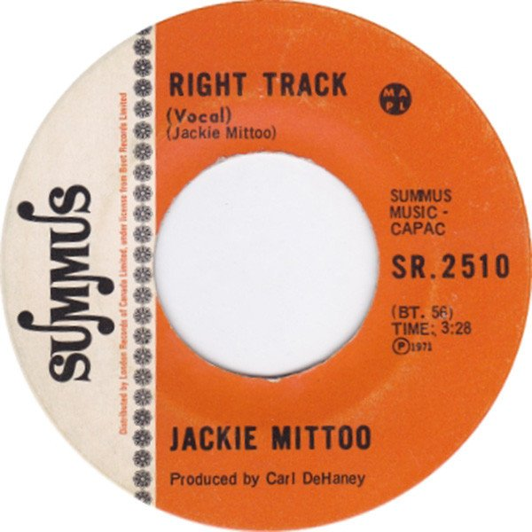 Jackie Mittoo - Right Track
