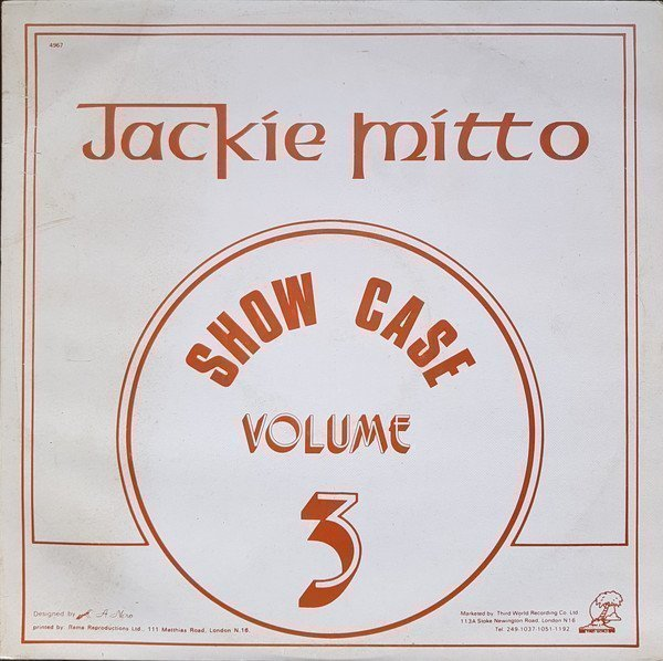 Jackie Mittoo - Show Case Volume 3
