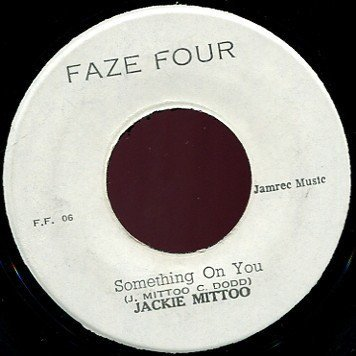 Jackie Mittoo - Something On You / On A Clear Day