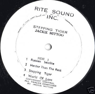 Jackie Mittoo - Stepping Tiger