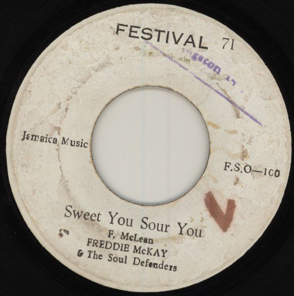 Jackie Mittoo - Sweet You Sour You / Touching You