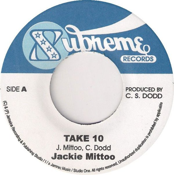 Jackie Mittoo - Take 10 / Don