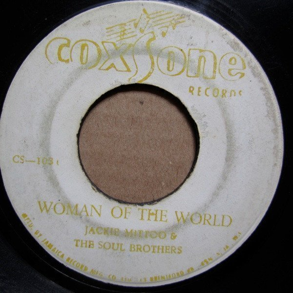Jackie Mittoo - Woman Of The World / Soul People
