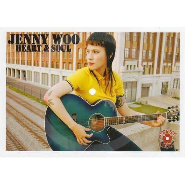 Jenny Woo  Discharger - Heart & Soul