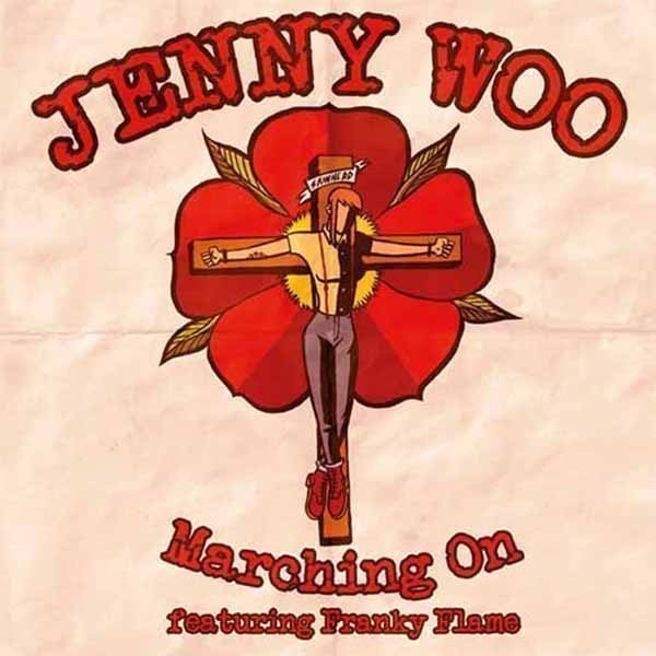 Jenny Woo  Discharger - Marching On / Don