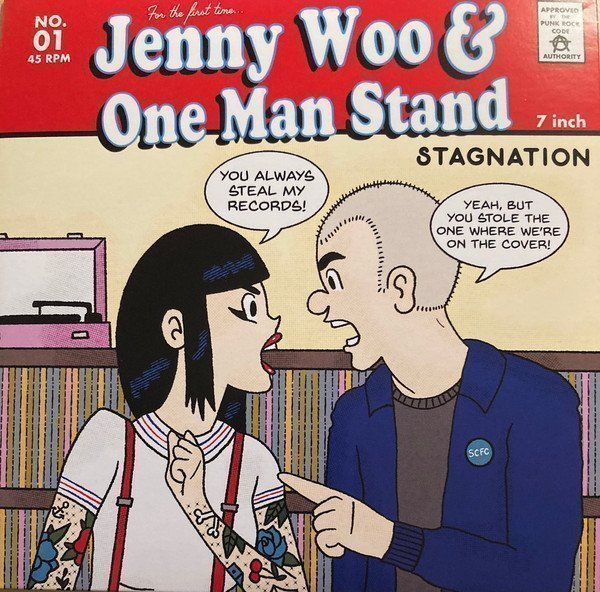 Jenny Woo  Discharger - Stagnation