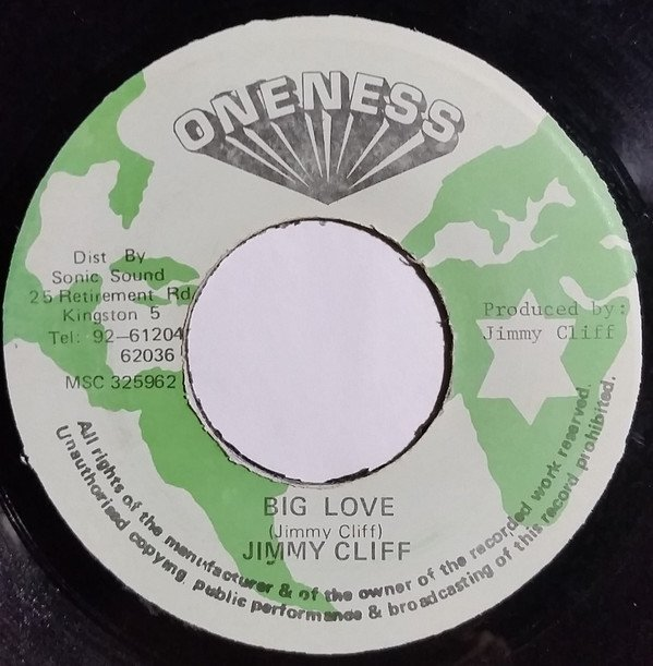 Jimmy Cliff - Big Love