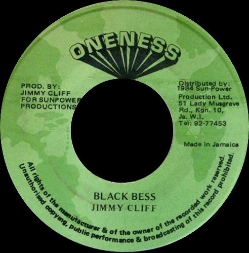 Jimmy Cliff - Black Bess
