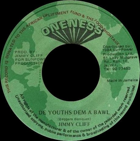 Jimmy Cliff - De Youths Dem A Bawl