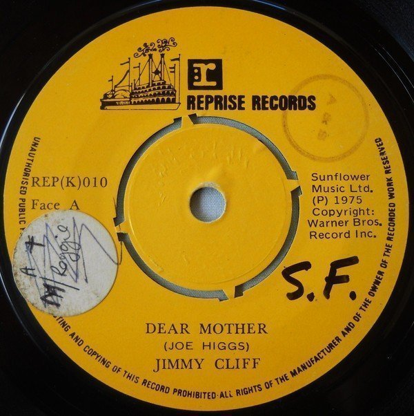 Jimmy Cliff - Dear Mother / No Woman No Cry