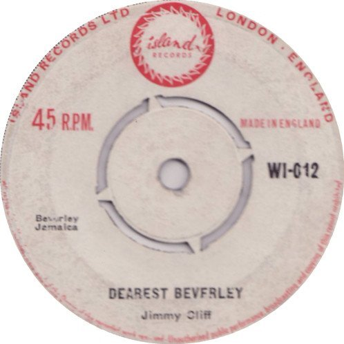 Jimmy Cliff - Dearest Beverly / Hurricane Hatty