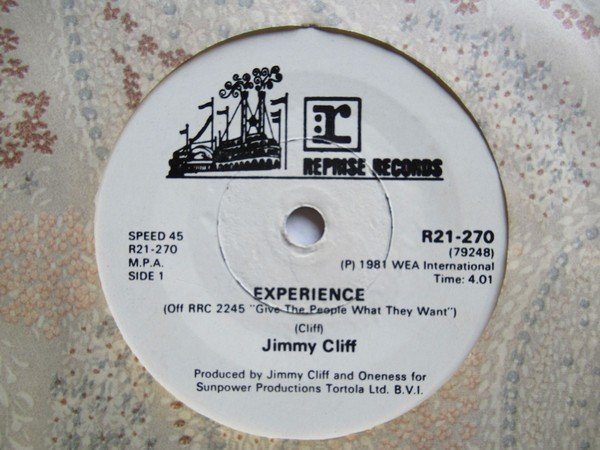 Jimmy Cliff - Experience / Give The People What They Want