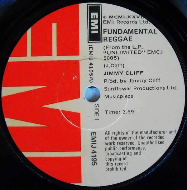 Jimmy Cliff - Fundamental Reggae