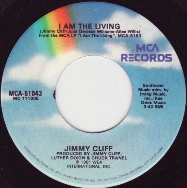 Jimmy Cliff - I Am The Living / Love Again